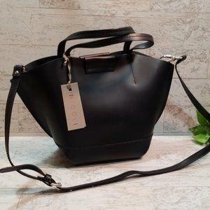 Nicoli Blue Genuine Italian Leather Purse